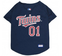 Minnesota Twins V-Neck Dog Jersey
