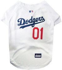 Los Angeles Dodgers V-Neck Dog Jersey