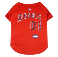 Los Angeles Angels V-Neck Dog Jersey