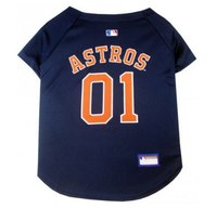 Houston Astros V-Neck Dog Jersey