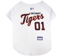Detroit Tigers V-Neck Dog Jersey