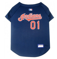 Cleveland Indians V-Neck Dog Jersey