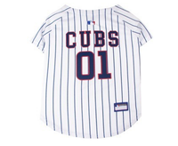Chicago Cubs V-Neck Dog Jersey