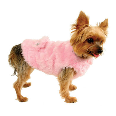 Ruff Ruff Couture Fabulous Faux Fur Dog Coat