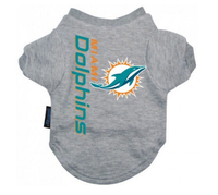 Miami Dolphins Dog T-Shirt