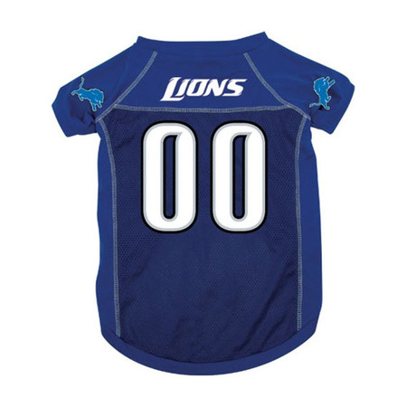 Detroit Lions Dog Football Jersey