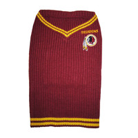 Washington Redskins Dog Sweater
