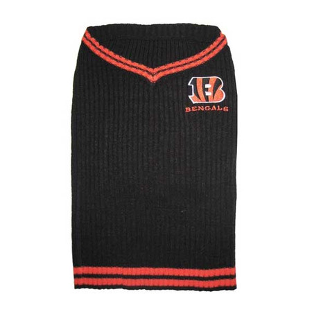 Cincinnati Bengals Dog Sweater