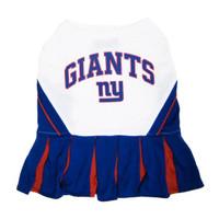 New York Giants Cheerleader Dog Dress