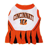 Cincinnati Bengals Cheerleader Dog Dress