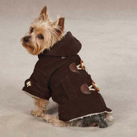 Corduroy Toggle Dog Coats