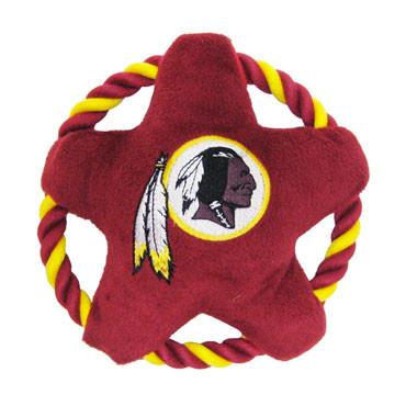 Washington Redskins Rope Disk Dog Toy