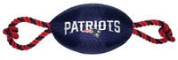New England Patriots Nylon Football Dog Toy