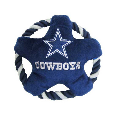 Dallas Cowboys Rope Disk Dog Toy