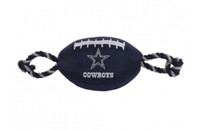Dallas Cowboys Nylon Football Dog Toy