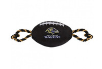 Baltimore Ravens Nylon Football Dog Toy