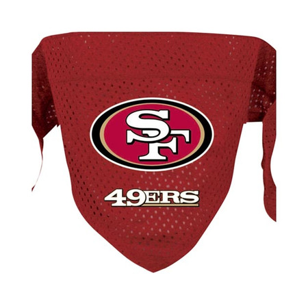 San Francisco 49ers Mesh Dog Bandana