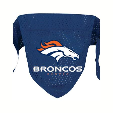 Denver Broncos Mesh Dog Bandana
