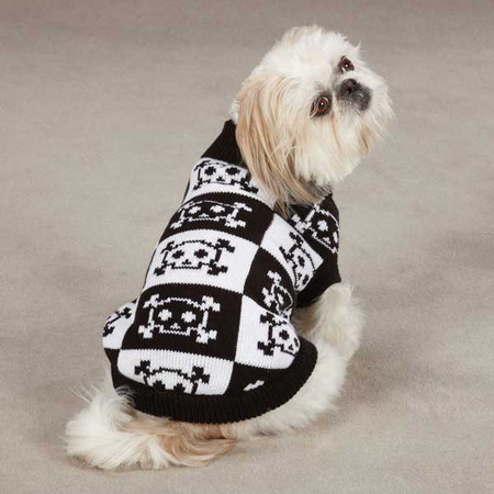 Bad to the Bone Dog Sweater