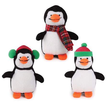 Silly Chilly Penguins Dog Toys