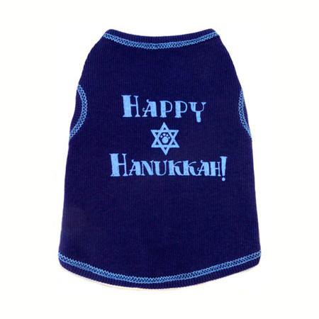 Happy Hanukkah Dog Tank