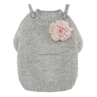 Louisdog Cashmere Corsage Sweater