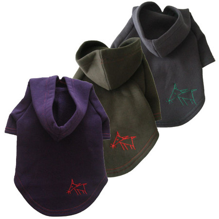 Sniffing Dog Hoodies