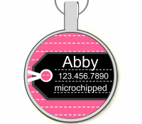 Luggage Tag Silver Pet ID Tags