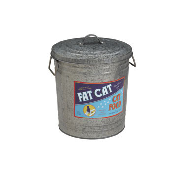 Fat Cat Food Storage Bin
