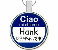 Ciao Mi Chiamo... Silver Pet ID Tags