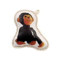 Recycled Canvas Monkey Dog Toy