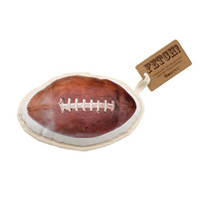 Recycled Canvas Football Dog Toy