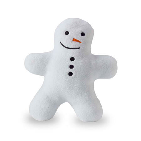 Planet Dog Squeaky Snowman Buddy