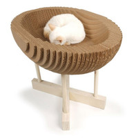 Kittypod Scratch Lounge Cat Bed