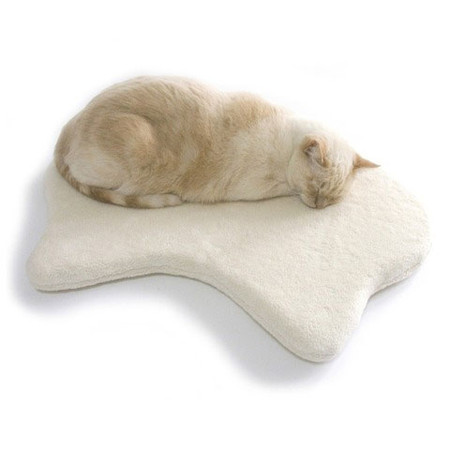 Silhouette Sherpa Cat Bed