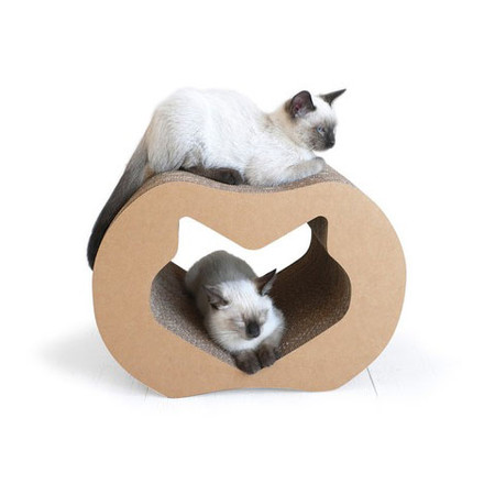 Mini Cat Lounge & Scratcher