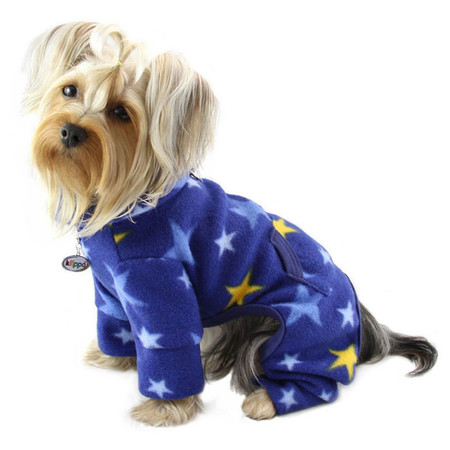 Midnight Stars Turtleneck Dog Pajamas