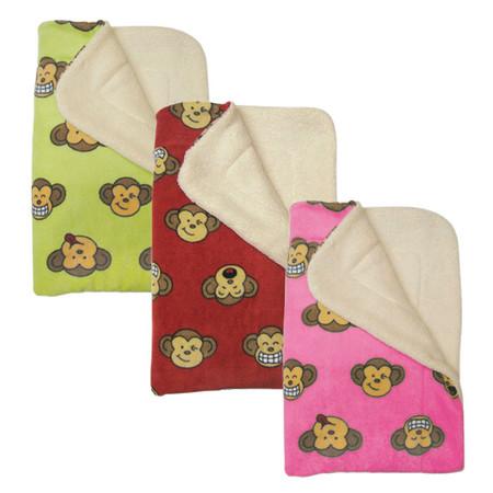 Silly Monkey Ultra Plush Blankets