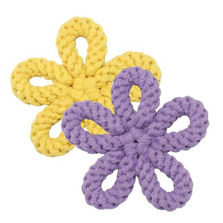 Flower Rope Dog Toys