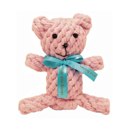 Jackie Bear Rope Dog Toy