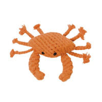 Kramer Crab Rope Dog Toy
