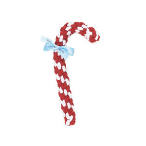 Candycane Rope Dog Toy