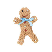 Gingerbread Rope Dog Toy