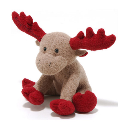 Red Moose Woolie Dog Toy