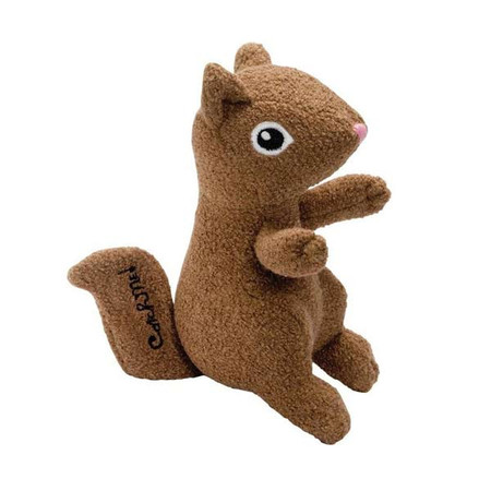 Squirrel Woolie Dog Toy