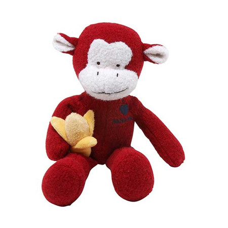 Monkey Woolie Dog Toy