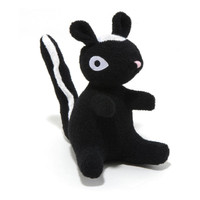 Skunk Woolie Dog Toy