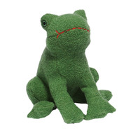 Frog Woolie Dog Toy