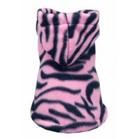 Pink Tigress Polar Fleece Hoodie