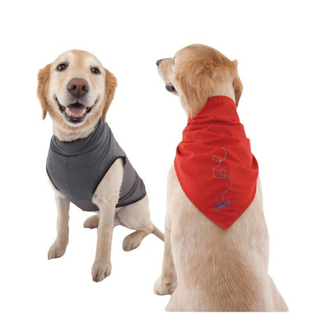 Insect Repelling Dog Shirts and Bandanas